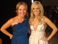 Carrie Underwood and Katie Cook