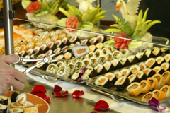 Sushi on a Celebrity Cruise Ship