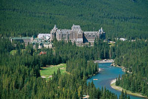 the Fairmont Banff