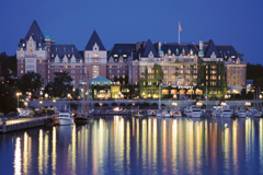 The Fairmont Empress in Victoria