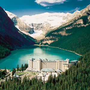 the Fairmont Lake Louise