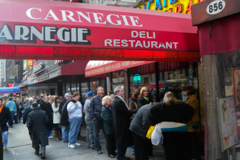 Carnegie Deli in New York
