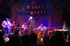 House of Blues in the French Quarter in New Orleans